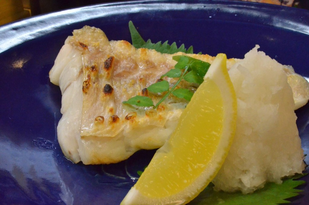 若鰤の焼き魚はうまい!